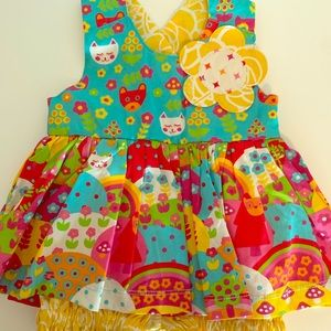 Colorful  Baby Girl Dress